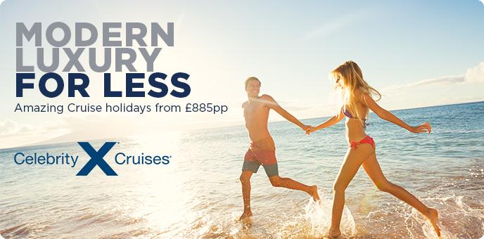 Celebrity Cruises - Modern Luxury for less