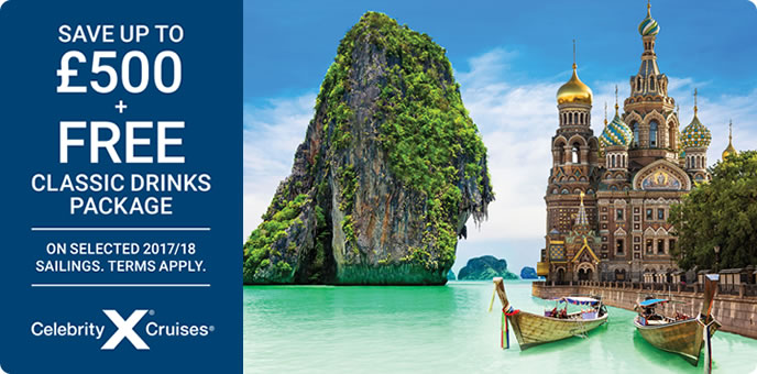 Celebrity Cruises Drinks & Savings