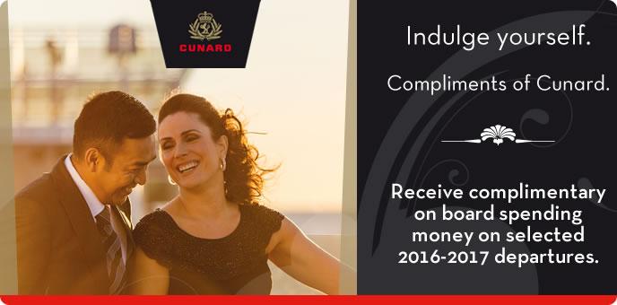 Cunard - Indulge Yourself