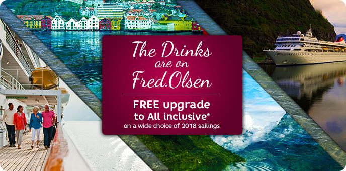 Fred. Olsen - Cruise Sale