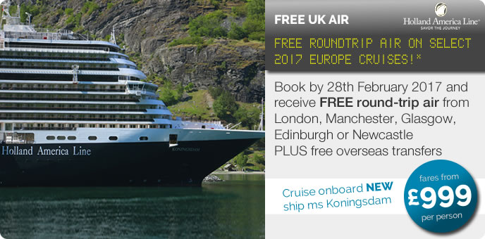 Holland America Cruise Offers