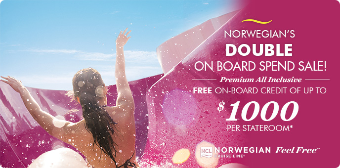 Norwegian Cruise Line - Double OBC Sale