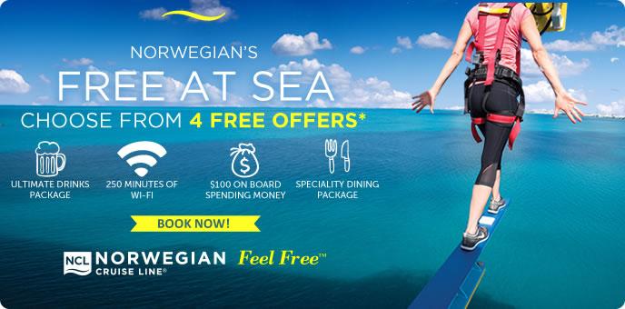 Norwegian Cruise Lines - FREE at Sea