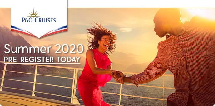 P&O Cruises website - podeals.com