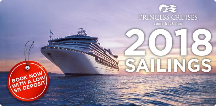 Princess Cruises - 2018 Sailings