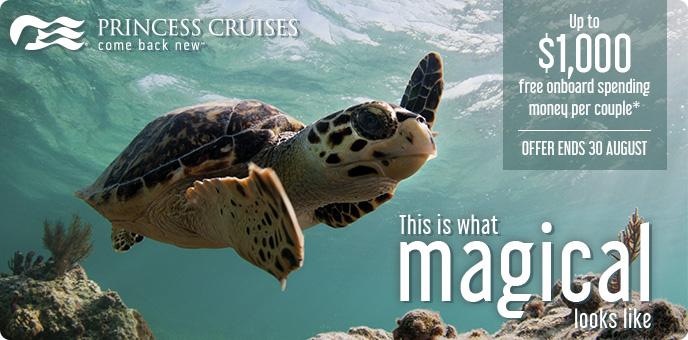 Princess Cruises - FREE On Board Spending Money