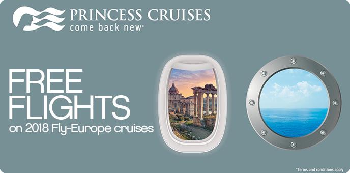 Princess Cruises - Free Flights