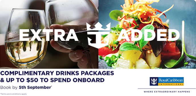 Royal Caribbean Europe Drinks Sale