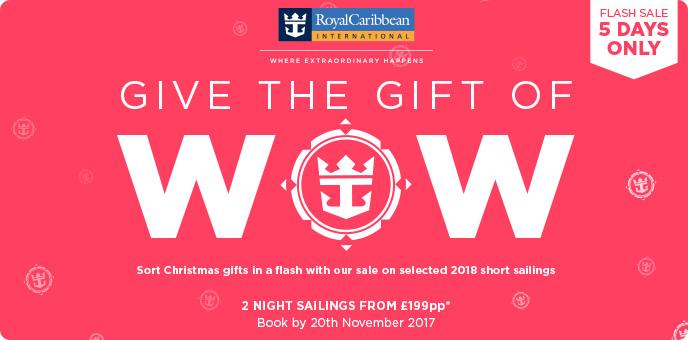 Royal Caribbean - Flash Sale - Short Breaks
