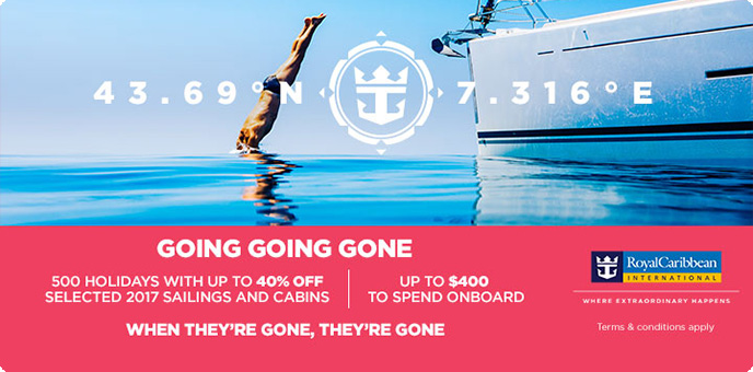 Royal Caribbean - 2017 Cruise Offers
