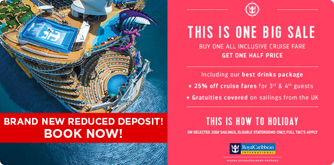 Royal Caribbean - This Is One Big Sale