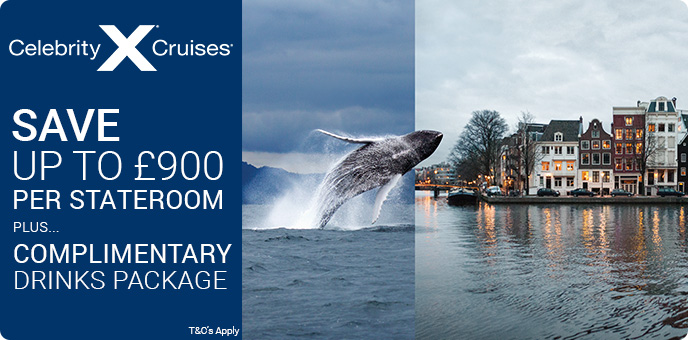 Celebrity Cruises - The World is Open. The Sale is On.