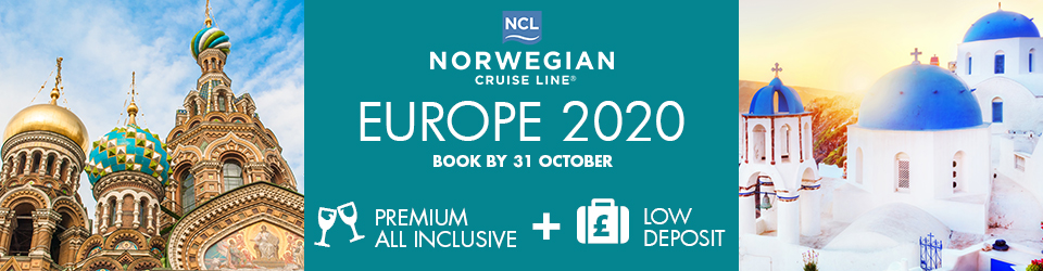 Norwegian Cruise Line in Europe 2020