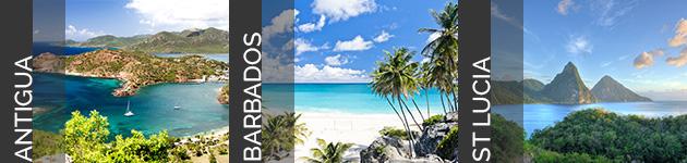 Antigua, Barbados & St Lucia
