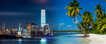 New York & Caribbean Cruise and Stay
