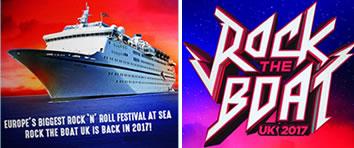 Rock The Boat Rock 'n' Roll Festival at Sea