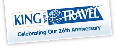 King World Travel, the award winning travel agent