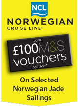 Norwegian Jade Exclusive M&S  Badge