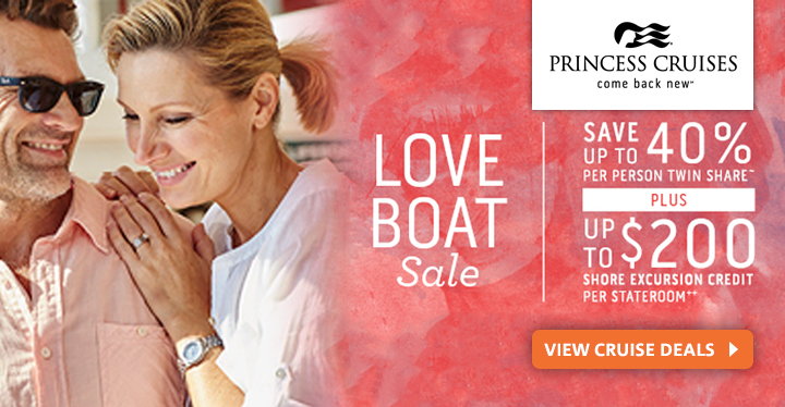 Princess Cruises from Vision Cruise