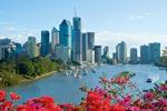 Brisbane, Australia city river