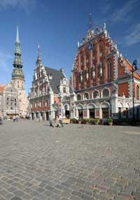 Riga townhall in Latvia