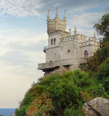 Swallows Nest, Yalta, Ukraine