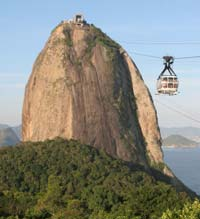Cable Car going to SugarLoaf Mountain