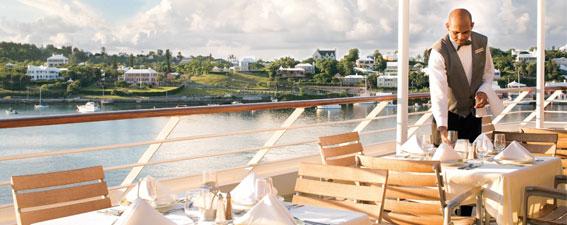 Service on Azamara Cruises