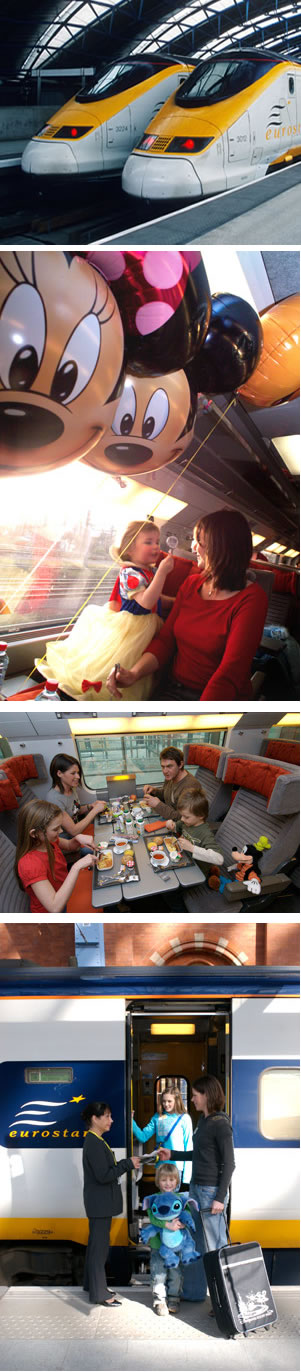 Disneyland® Paris by rail
