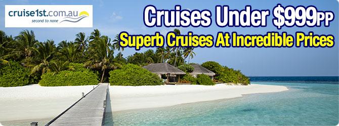 Cruises Under $999