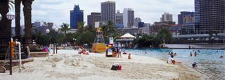 Playas en los suburbios de Brisbane