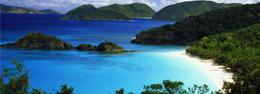Playas paradisíacas en el caribe británico
