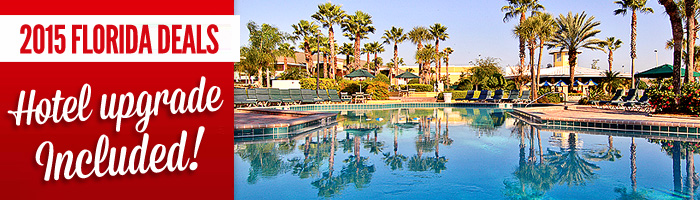 2015 Florida Deals Hotel Upgrade Included