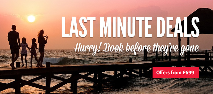 Generic | Last Minute Deals | Hurry!, Book before they're gone