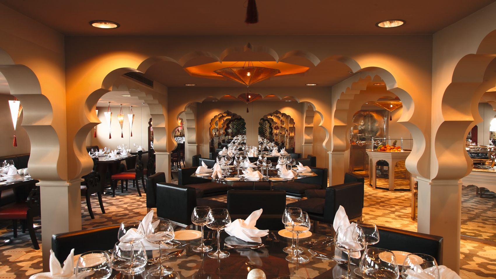 Darakum Nile Cruise Dining room
