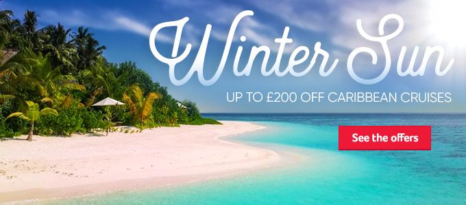 Generic | Winter Sun | Up to £200 off Caribbean Cruises