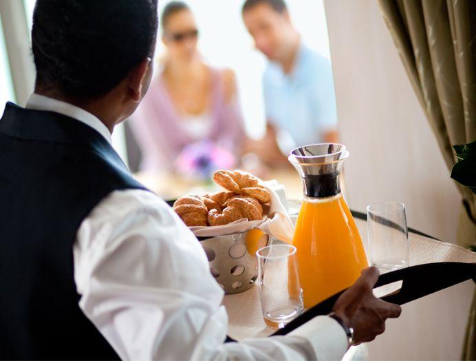 Celebrity Cruises Servicio de Habitación