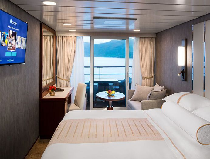 Cabina con Balcón en Azamara Club Cruises