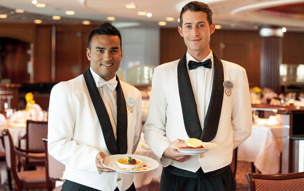 Servicio de Excelencia de Crystal Cruises