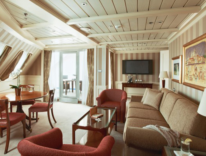 Owner's Suite en Silversea