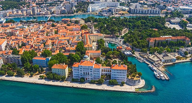 Cruceros por Zadar, Croacia