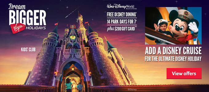 Generic   FREE Disney Dining   Add a Disney cruise