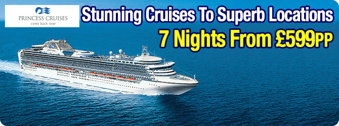 Princess Cruises from £599pp