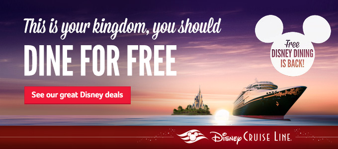 Disney | This is your kingdom, you should dine for free | See our great Disney deals