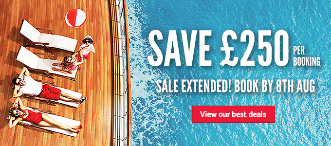 Generic | Save £250 per booking | Sale Extended! Book by 8th Aug