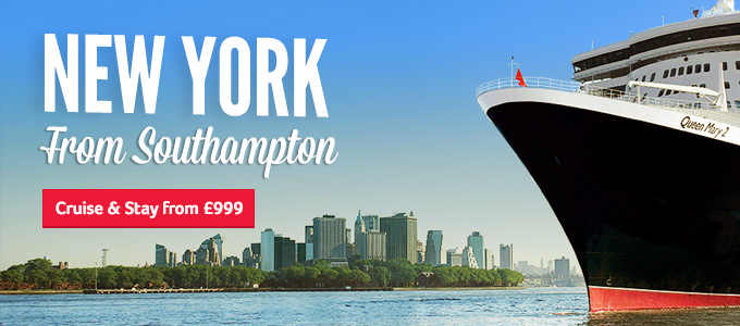 Generic   New York from Southampton   Cruise & Stay from £999