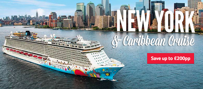 Generic | New York & Caribbean Cruise | Save up to £200pp