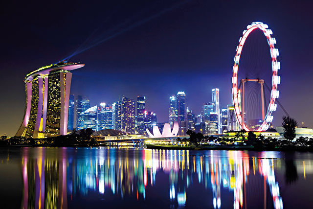 Southeast Asia from Singapore