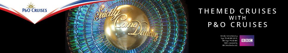Strictly Cruise - Strictly Come Dancing themed cruises P&O Cruises