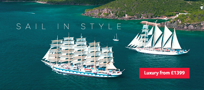 Generic | Sail in style | Luxury from £1399